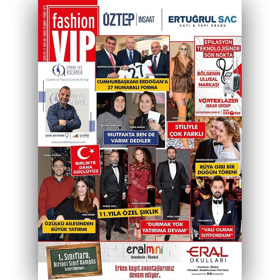 Fashion VIP röportajı